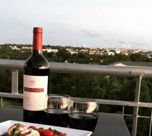 Round Rock's Urban Rooftop: The Best Rooftop Fine Dining Bat Watching Experience.